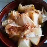 リンゴとチーズデザート