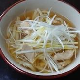 レモン風味ささ身汁麺