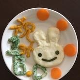 ジャガイモとブロッコリーのマッシュ