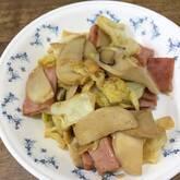 豚とキャベツのオイスター炒め