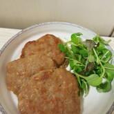 牛ひき肉のフライパン焼き
