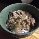 下味冷凍で牛丼