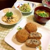 豆腐入り和風コロッケ