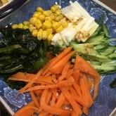 長芋とワカメのサラダ