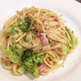 ブロッコリーのクリームスパゲティー