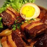 豚バラ肉の黒糖煮八角風味