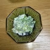 菜の花のワサビマヨ和え