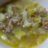キャベツのスパイシーカレースープ