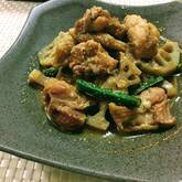 鶏のゴマゴマ煮