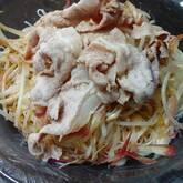 豚モヤシ素麺