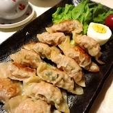 野沢菜入り焼き餃子