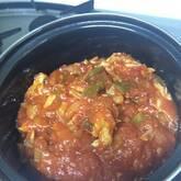 鶏肉のコラーゲントマト煮込み
