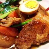 トロトロ豚の角煮+しみしみ大根と煮卵