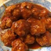 ご飯がすすむ!中華風甘酢肉団子
