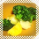 ジャガイモの塩バターのせ