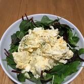 ゆで卵入りポテトサラダ