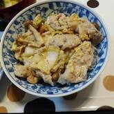 白菜の卵とじ丼
