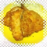 アジのフライ・梅肉ソース