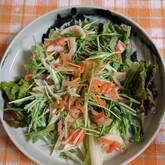 ニンジンと玉ネギのサラダ