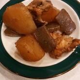 鶏肉と大根のオイスター煮