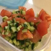 夏野菜の納涼和え