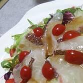 鯛のカルパッチョ