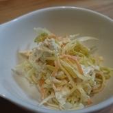 ニンジンとキャベツの白和え風サラダ
