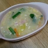 春雨の卵スープ