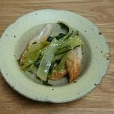 小松菜とちくわの煮浸し