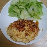 ヒジキ入り豆腐ハンバーグ