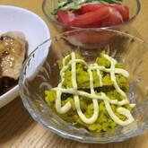 カボチャのゴマサラダ