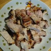 鶏もも肉のグリル焼き