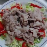 豚肉の冷しゃぶ