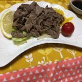 牛肉ソテーレモンソース
