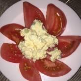トマトと卵のサラダ