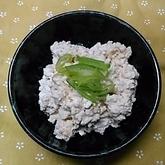 豆腐のゴマ酢和え