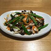 白身魚の野菜あん