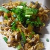 カボチャと豚肉の炒め煮