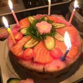 ケーキちらし寿司