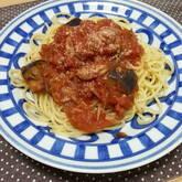簡単絶品!ツナとナスのトマトソースパスタ
