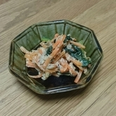 小松菜のツナマヨ炒め