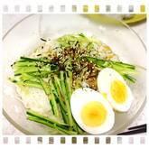 冷やし納豆素麺