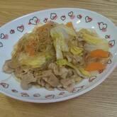 春雨と豚肉の炒め物