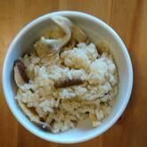 キノコの炊き込みご飯