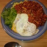 トマトと鶏ひき肉のキーマカレー