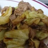 ナスと豚ひき肉のカレー炒め