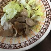 豚肉の甘辛丼
