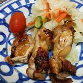 鶏のさっぱり塩焼き