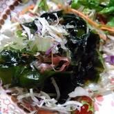 海藻の和風サラダ