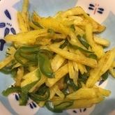 ジャガイモのカレー炒め